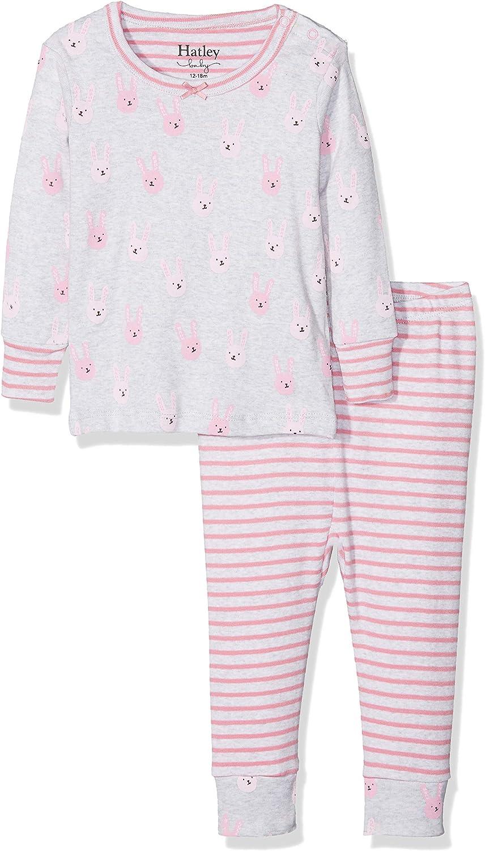 Hatley Baby Girls Organic Cotton Pajama Sets