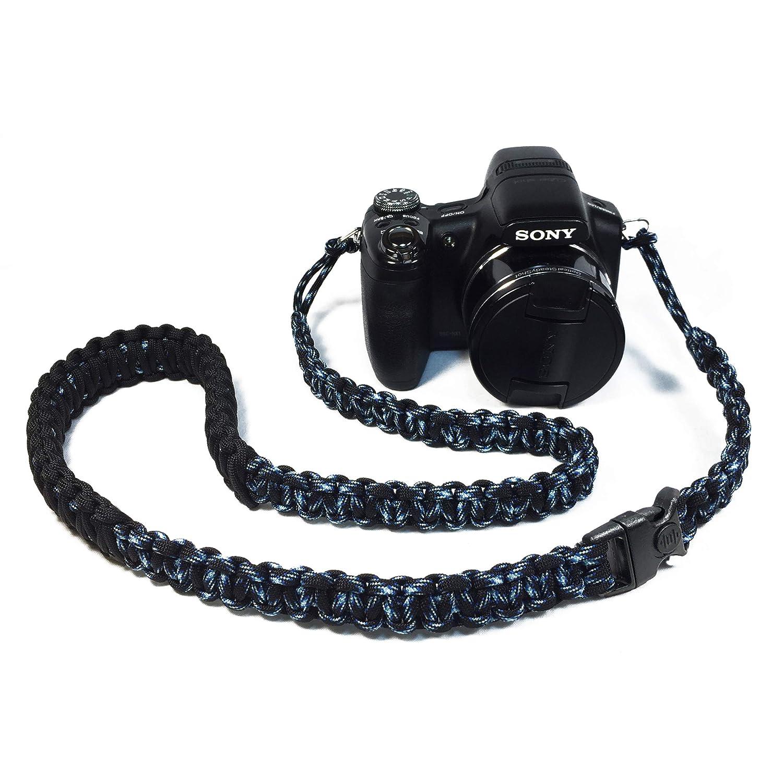 Blue Lightning Paracord - Correa de Seguridad para cámara réflex ...