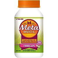 Metamucil Daily Fibre Supplement Fibre Caps, 100 Doses