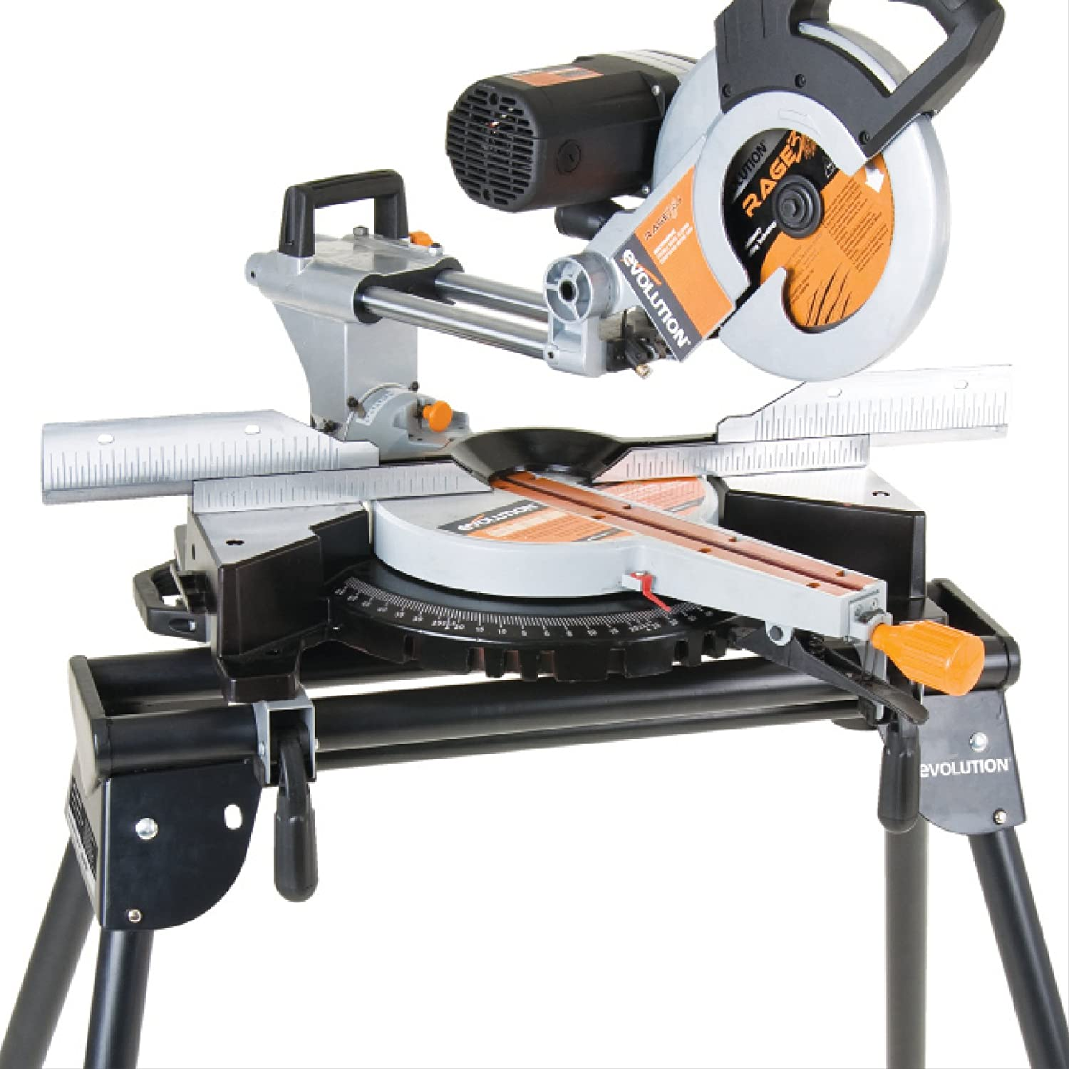 Evolution Mitre Saw Stand Table Bench Workstation With Extensions Brand New Ebay