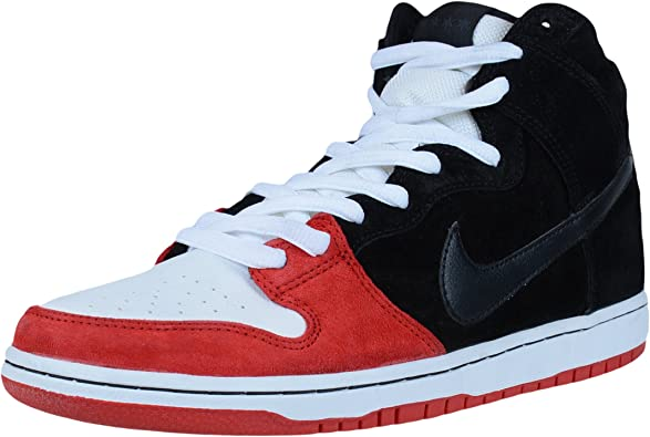 nike sb black red