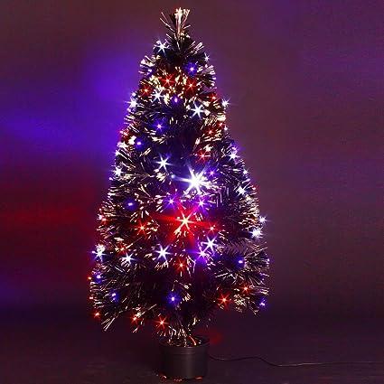 FEERIE LIGHTS - Árbol de Navidad artificial luminoso de fibra óptica ...