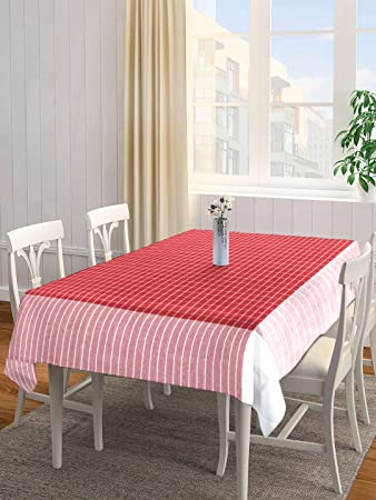 31a26f915 Buy Dhrohar NEUDIS Cotton Table Cover Table Cloth for 6 Seater Table - 225  X 150 Cms Online at Low Prices in India - Amazon.in