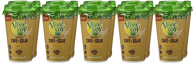 Vivesoy Bebida de Café y Soja - Paquete de 10 x 200 ml - Total: 2000 ml: Amazon.es: Alimentación y bebidas