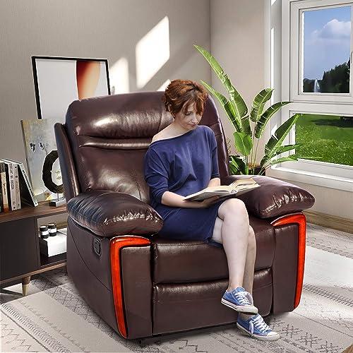 Merax Massage Recliner PU Leather Lounge