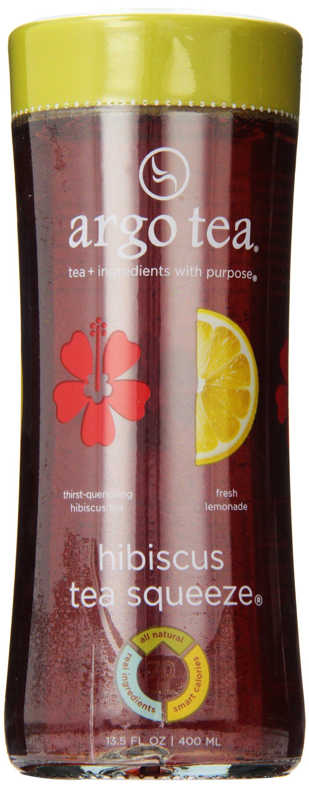 Hibiscus Tea Squeeze® Bottled Tea (Case of 12) by Argo Tea