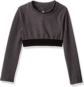 Soffe Girls' Big Grace Long Sleeve Crop Top