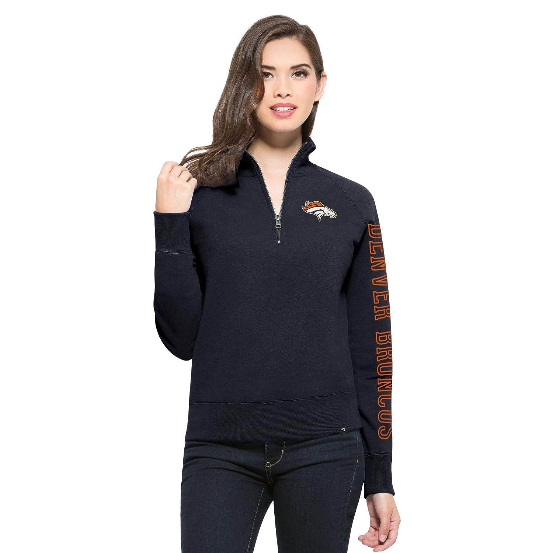 sale retailer e4ce3 857d0 '47 NFL Women's Shimmer Cross-Check 1/4-Zip Fleece Pullover