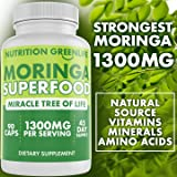 Moringa Capsules 1300mg by Nutrition Greenlife