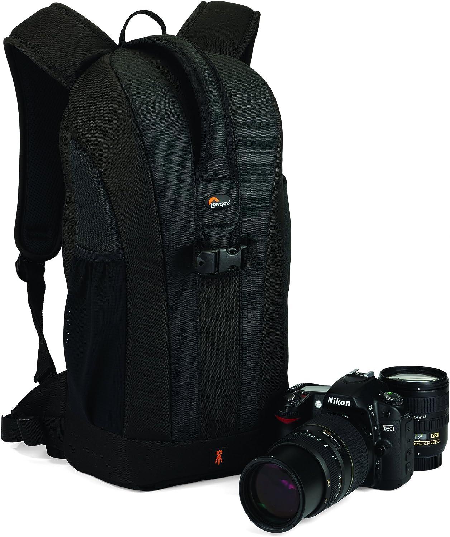 Lowepro Flipside 200 - Mochila para cámaras, color negro: Amazon ...