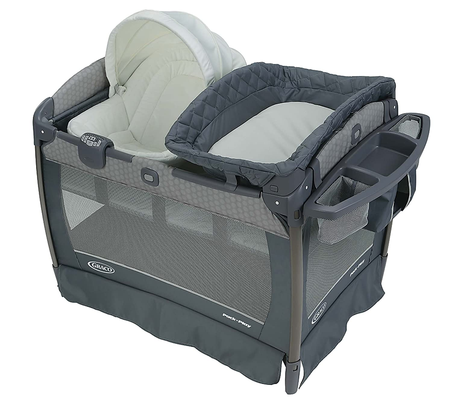 Graco Pack 'N Play Playard Oasis with Soothe Surround Technology, Davis 1965636