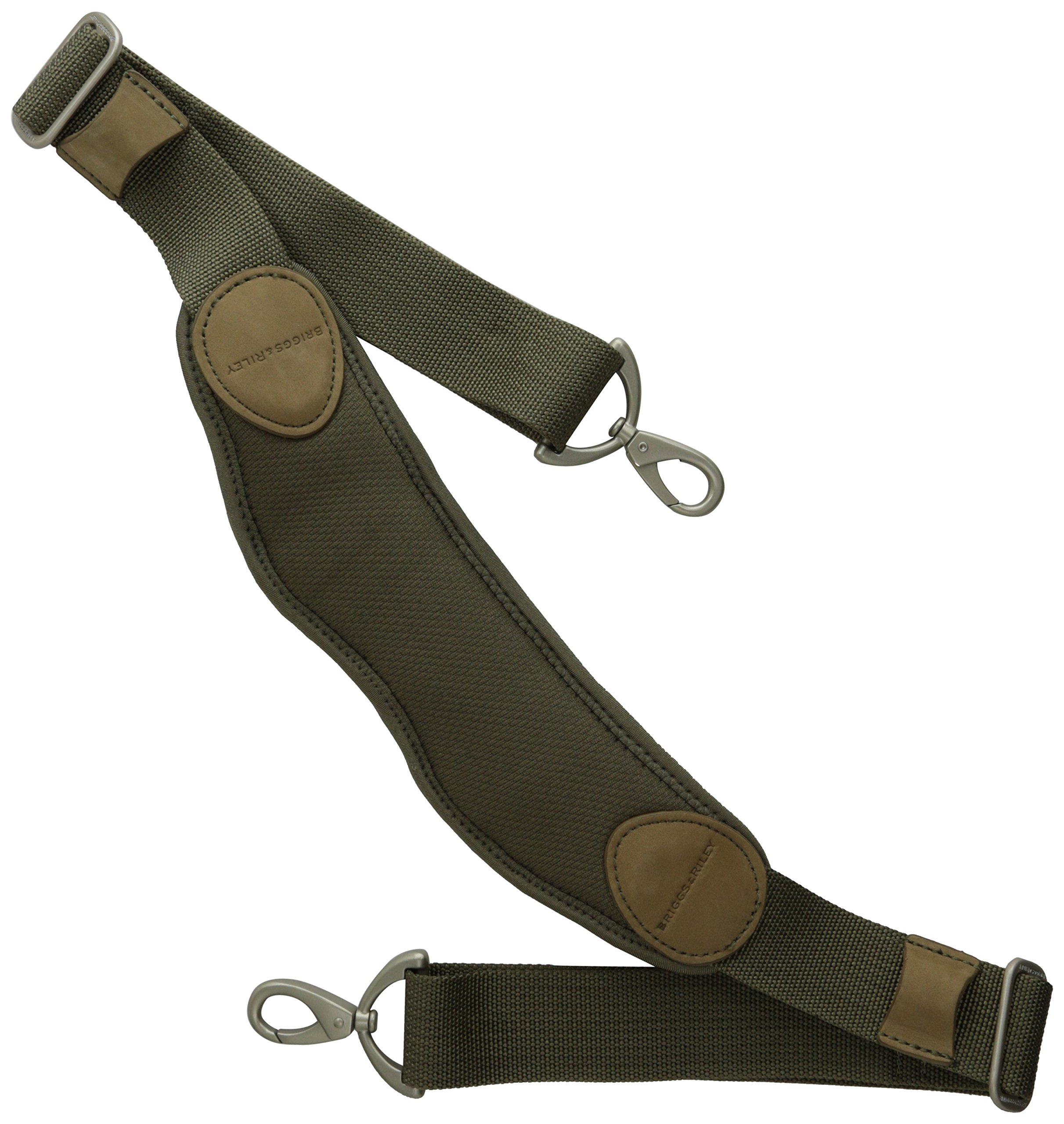 Briggs & Riley Flexible Shoulder Strap, Olive, One Size