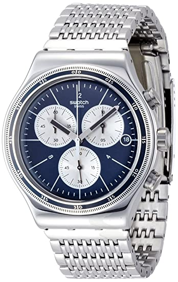 Amazon.com: Swatch Irony Wales Chronograph Mens Watch YVS410G: Swatch: Watches