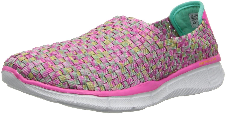 Skechers Damen Equalizer-Vivid Dream Sneakers  39 EU Pink (Pkmt)