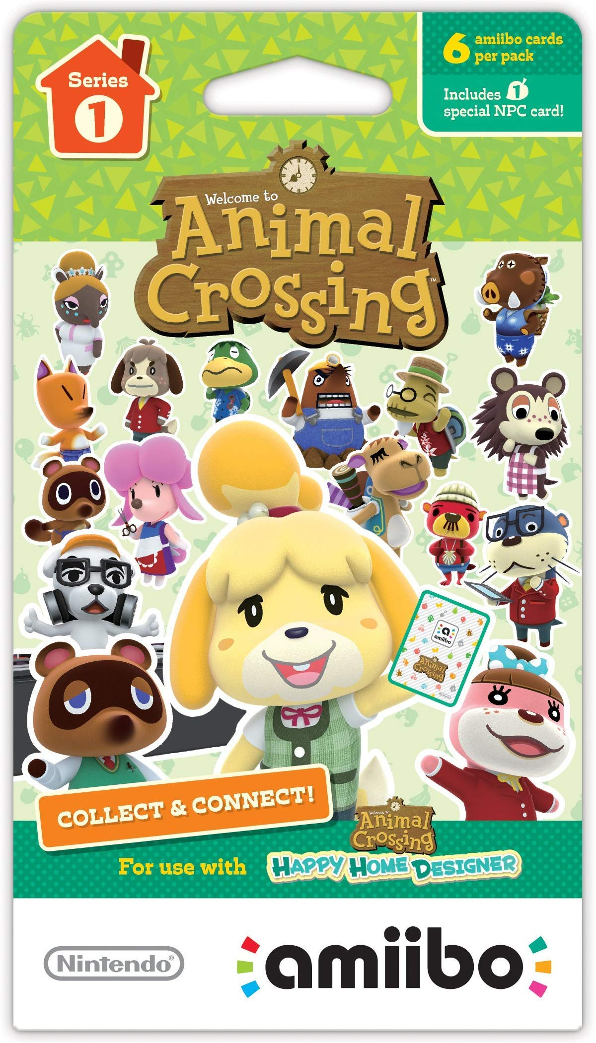 Nintendo Animal Crossing amiibo Cards Series 1, 2, 3, 4 for Nintendo Wii U and 3DS, 1-Pack (6 Cards/Pack) (Bundle) Includes 24 Cards Total by Nintendo (Image #2)