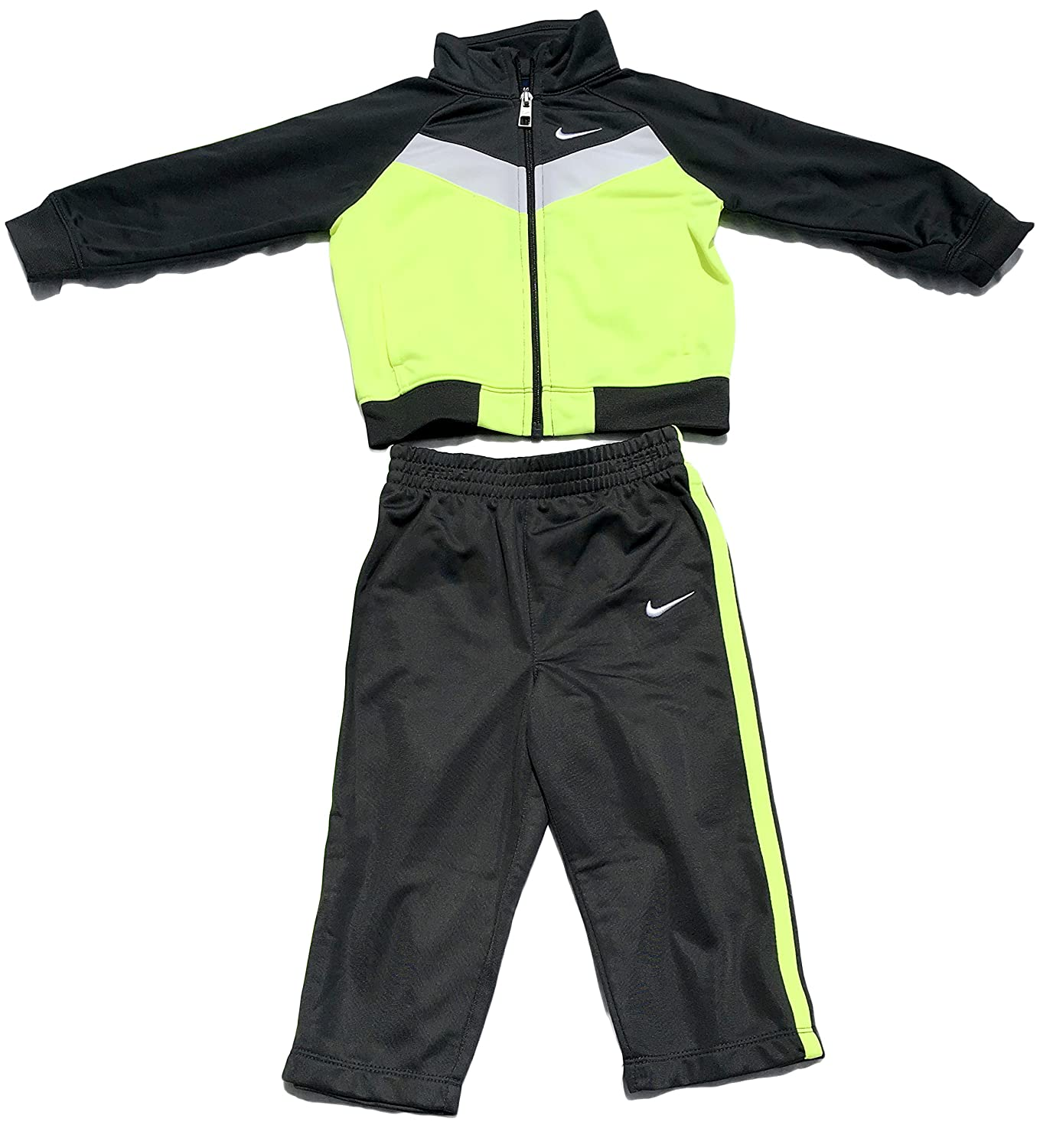 6f10d459035 Amazon.com  Toddler Boy Nike Tricot Jacket   Pants Set (2T)  Clothing