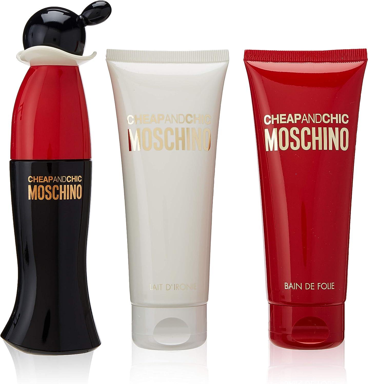 Moschino Agua de Colonia + Gel + Leche Corporal - 1 Pack: Amazon.es: Belleza