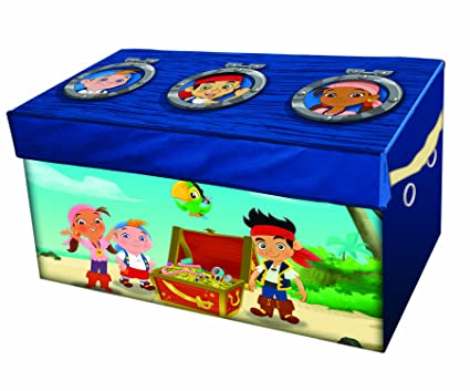 Charmant Disney Jake And The Never Land Pirates Collapsible Storage Trunk