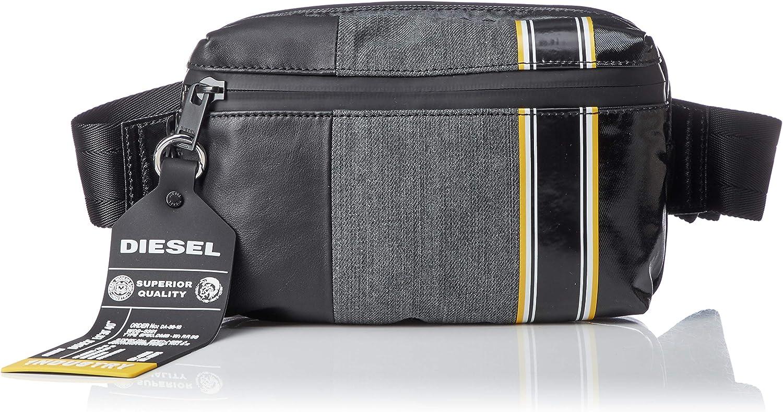 Diesel Mens D-Tolle BELTBAG-Belt Bag grey denim//black UNI X05896P2067H6027