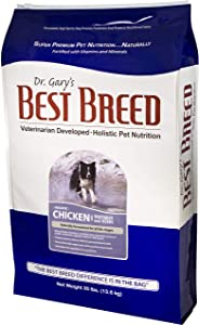 Best Breed Chicken w/ Fruits & Vegetables Made in USA [Natural Dry Dog Food For All Breeds and Sizes]