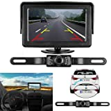 Amazon Price History for:iStrong Backup Camera and Monitor Kit Wire Single Power Supply For Whole System  Rear View/Constantly View License Plate Reverse Camera For Car/SUV/Vehicle/Pickup Waterproof Night Vision Guide Lines