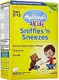 Hylands Sniffles `N Sneezes 4 Kids 125 Tab