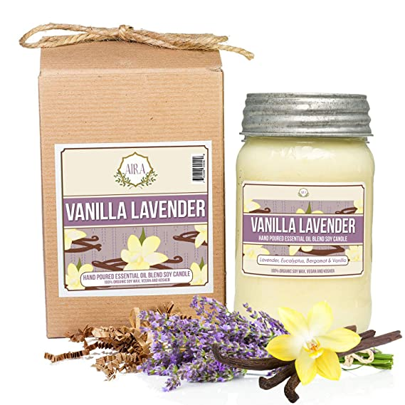 Vanilla Lavender Candles