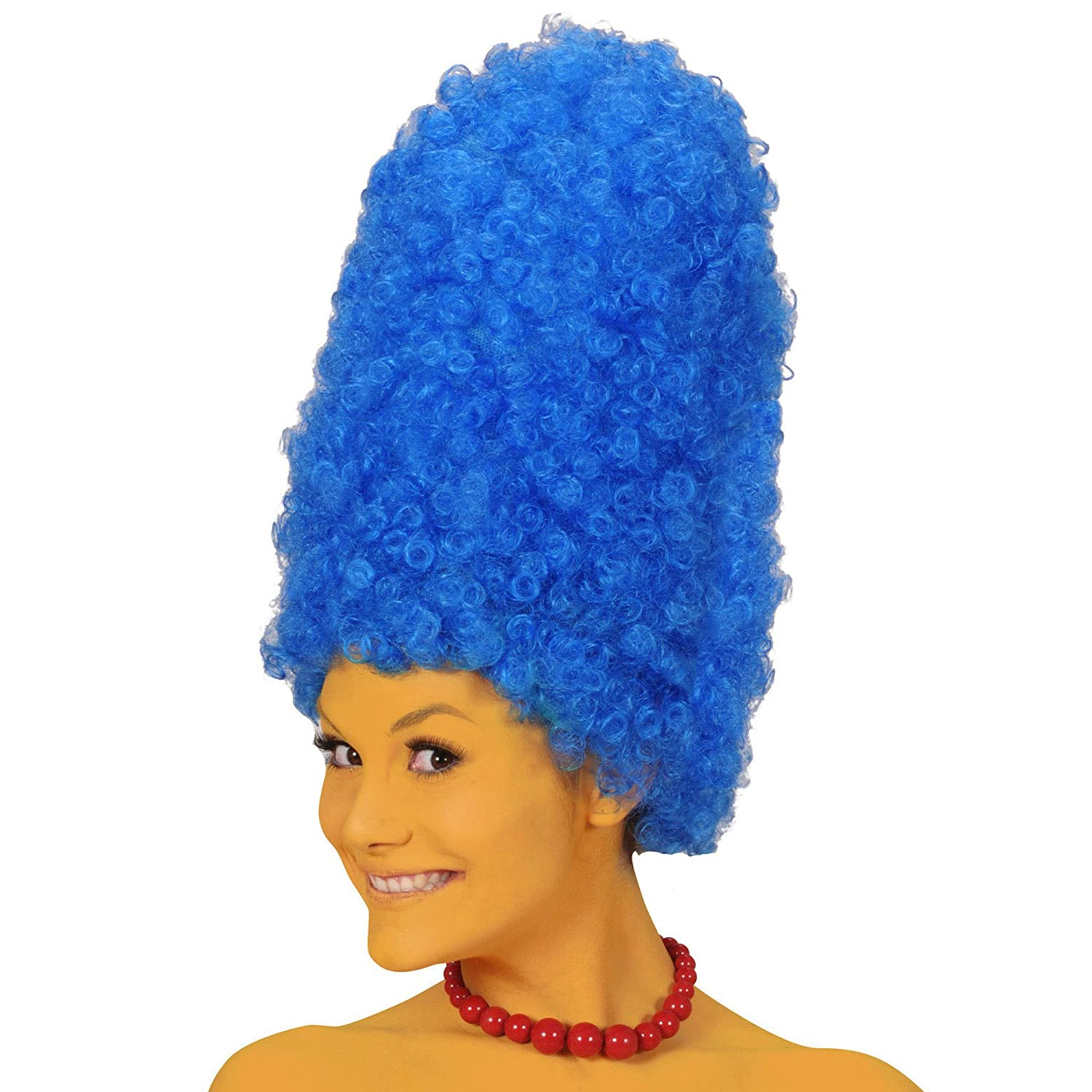 Tall Blue Beehive Marge Wig (peluca)https://amzn.to/2QAPHEN