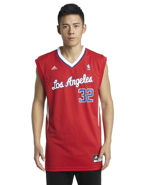 NBA Los Angeles Clippers Blake Griffin Road réplica de la Camiseta, Color Rojo, NBA, Blake Griffin, Hombre, Color Los Angeles Clippers, tamaño Small: ...