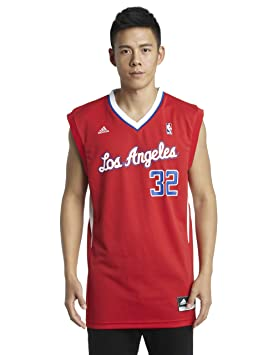 NBA Los Angeles Clippers Blake Griffin Road réplica de la Camiseta, Color Rojo, NBA