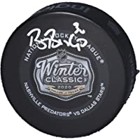$59 » Ben Bishop Dallas Stars Autographed 2020 NHL Winter Classic Official Game Puck - Fanatics Authentic Certified