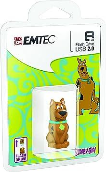 Emtec Hannah Barbera Scooby Doo 8 GB USB 2.0 Flash Drive ECMMD8GHB106 Pen Drives