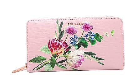 Dusky Pink Ted Baker - Monedero con diseño Floral, Color ...