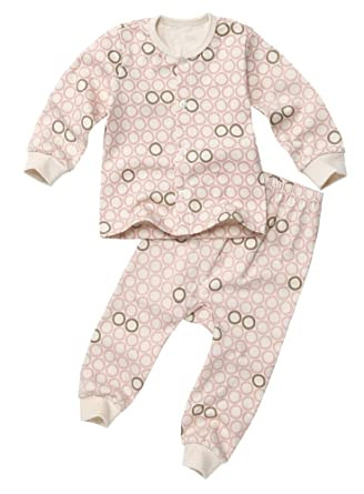 c7488ef0839b Amazon.com  100% Organic Cotton Baby 2piece Buttondown Pajama Set ...