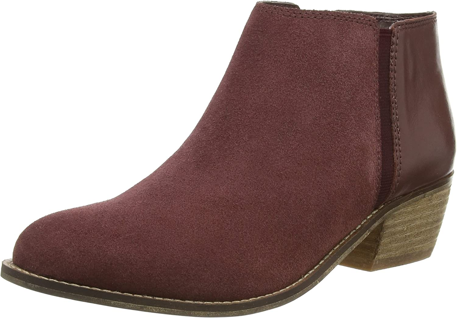 burgundy chelsea boots womens suede