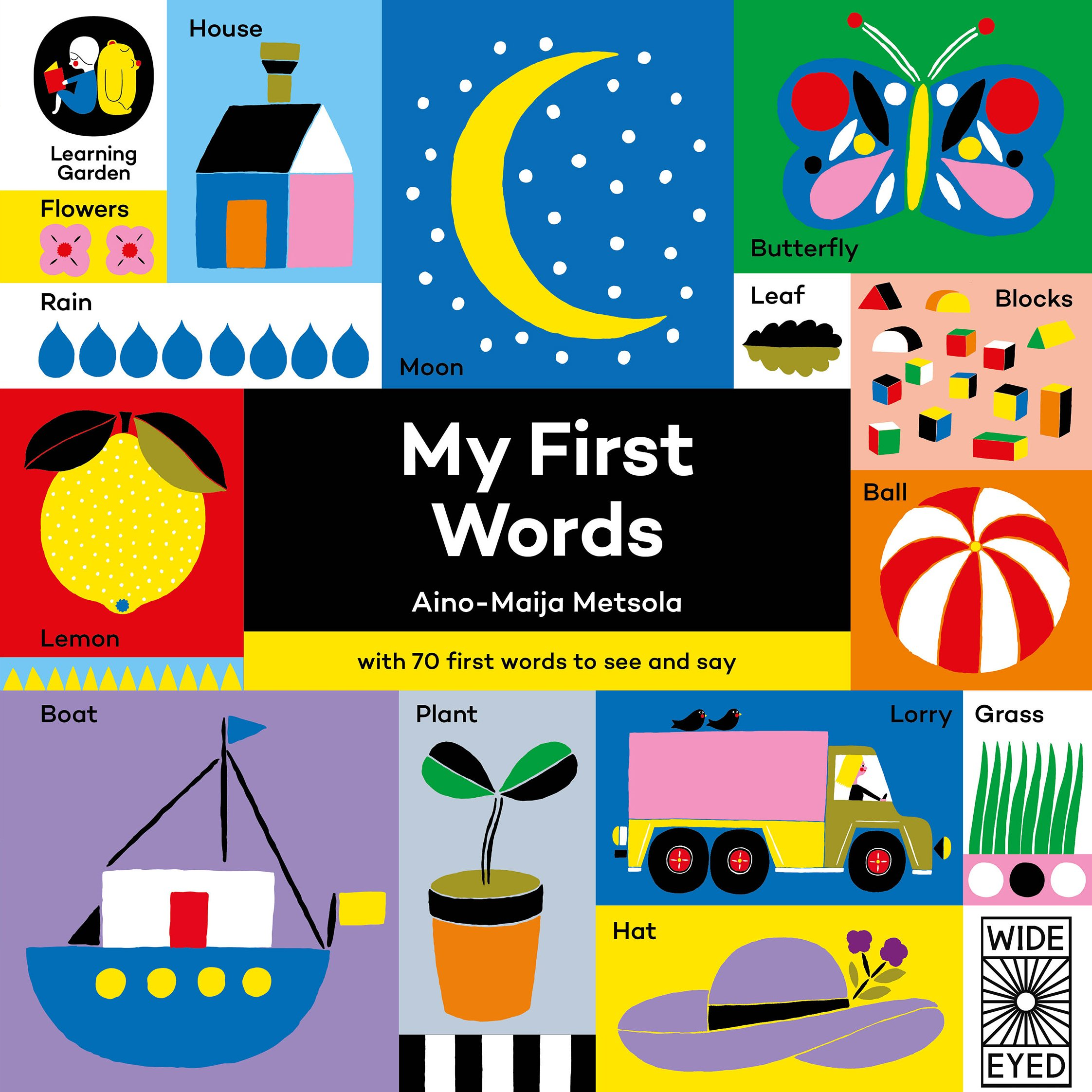 my first words the learning garden - The Learning Garden