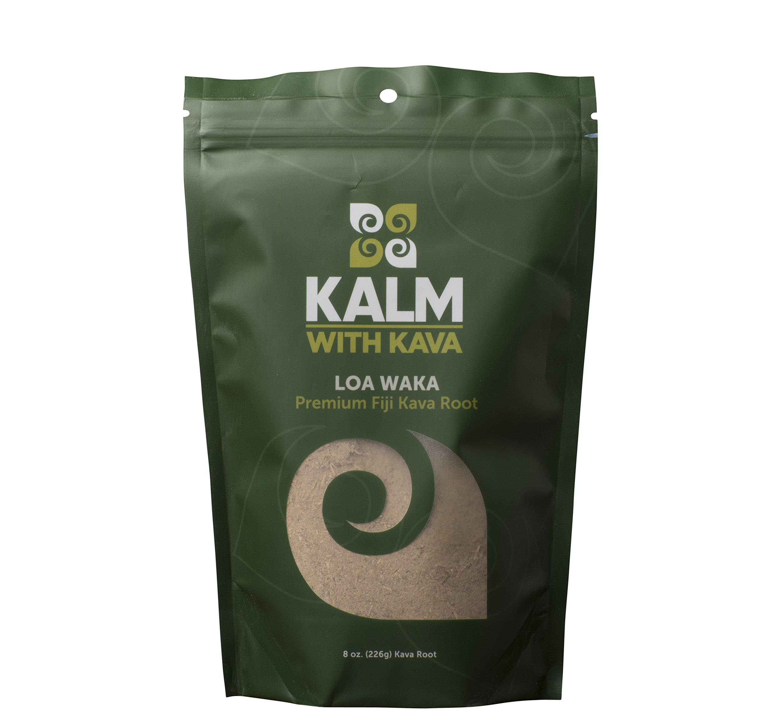 Kava Root - Farm Fresh Fiji Loa Waka 100% Noble Kava (1/2 LB)