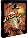 Indiana Jones Collection 1-4 (Steelbook) (5 Blu-Ray) [audio español] [Italia] [Blu-ray]