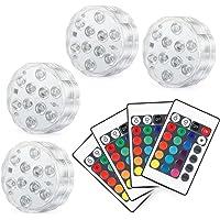 Kohree 4 x Luces Sumergibles LED Bajo El