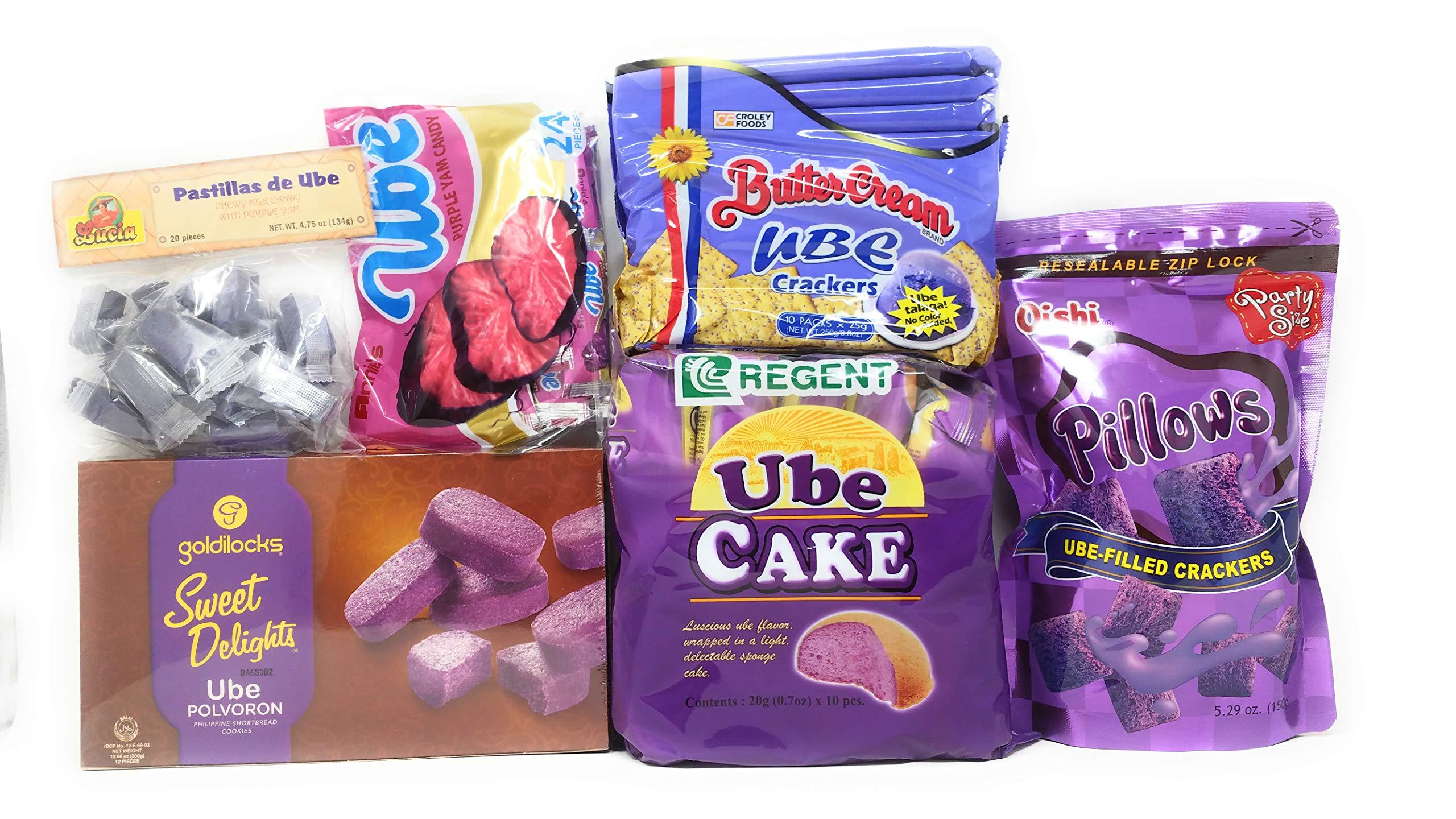 Filipino Ube (Purple Yam) Snack Bundle