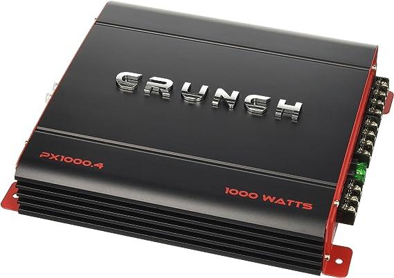 Crunch PX1000.4 Power Amplifier (Class Ab