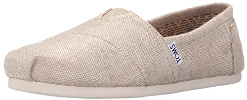 TOMS Natural Metallic Burlap Alpargatas, Zapatillas de Estar por casa para Mujer: Amazon.es: Zapatos y complementos