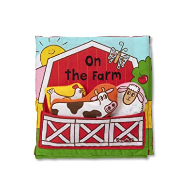 Melissa & Doug K's Kids On The Farm 8-Page Soft Activity Book, The Original (Great Gift for Girls and Boys - Best for All Ages), 1 EA: Toys & Games