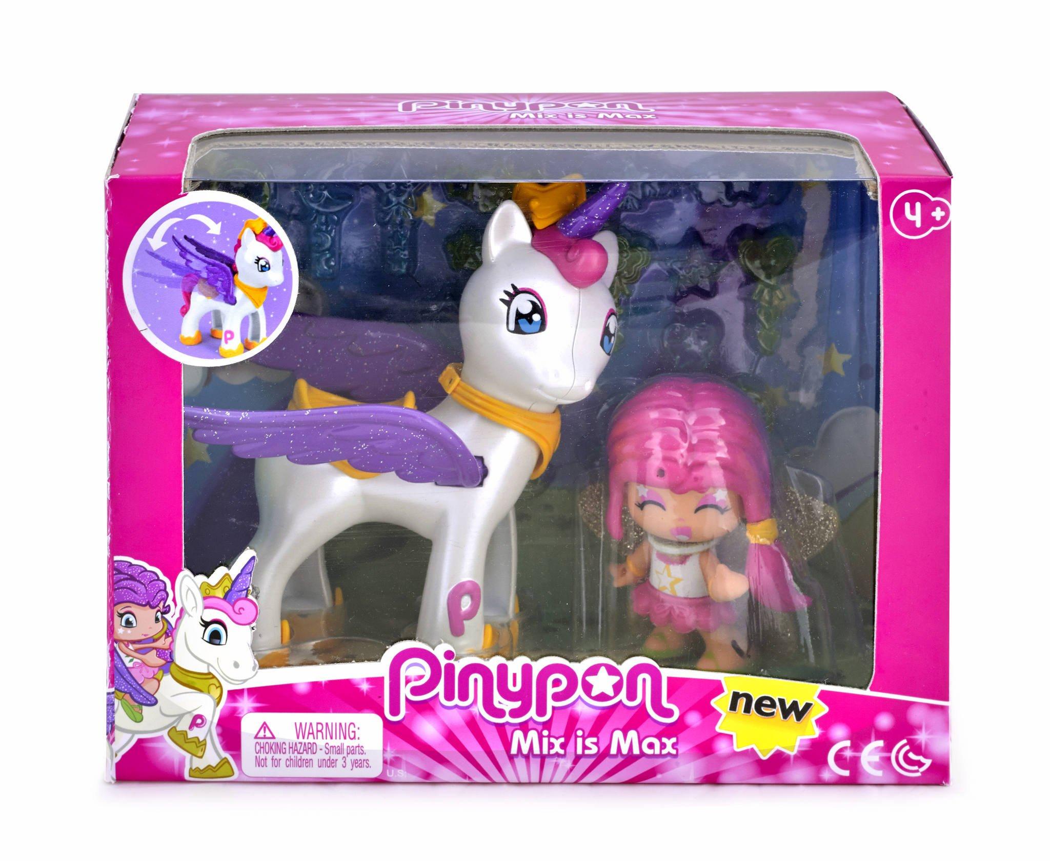 Pinypon - Estrella y Unicornio Volador (Famosa 700014082) product image