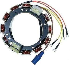 CDI Electronics 173-3410 Johnson/Evinrude Stator - 4 Cyl. 9 Amp (1988-2001)