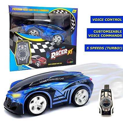Car Customizing Games >> Amazon Com Mukikim Voice N Go Racer Xt Blue Voice
