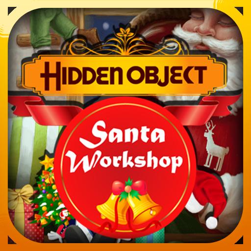 Hidden Object Santa Workshop