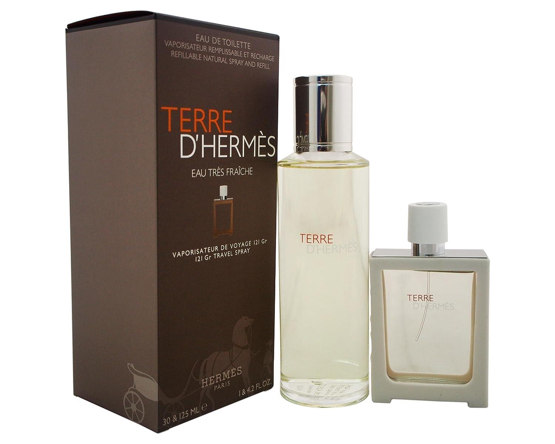 Pour – Pack Eau Hermès Paris 'hermes 1 Fraiche Parfum Terre D Homme Tres oeCQrxdBW