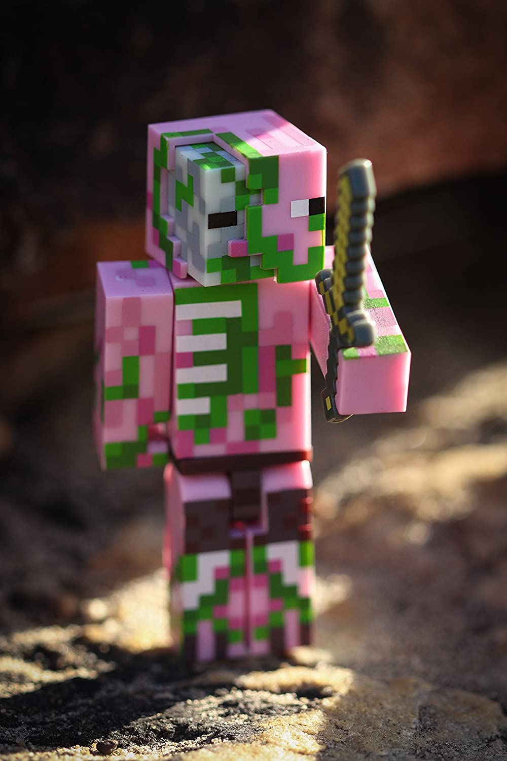 Import 16476 Minecraft Charged Creeper Pack Figure Pack Jazwares