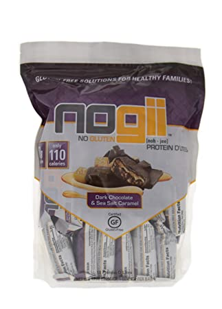 NoGii D Lites Dark Chocolate Sea Salt Protein Blends, 18 Count